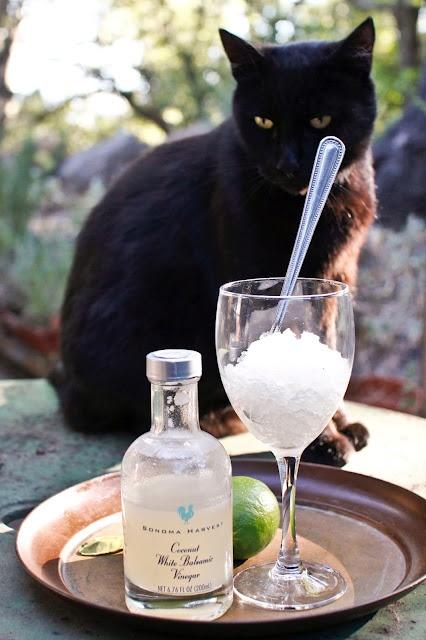 Coconut and Kaffir Lime Balsamic Granita | Sangria (& other beverages ...