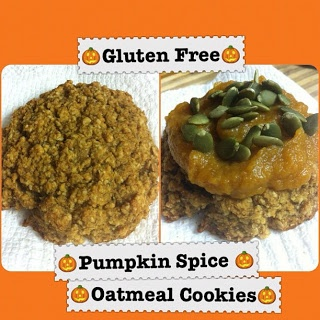 Pumpkin Spice Oatmeal Cookies (Gluten Free, Low Carb, Wheat Free, Soy ...