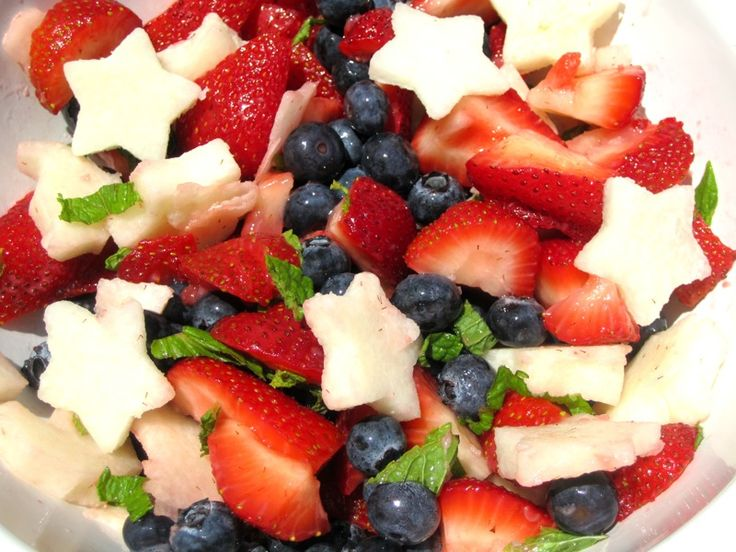 4th of july fruit appetizers
