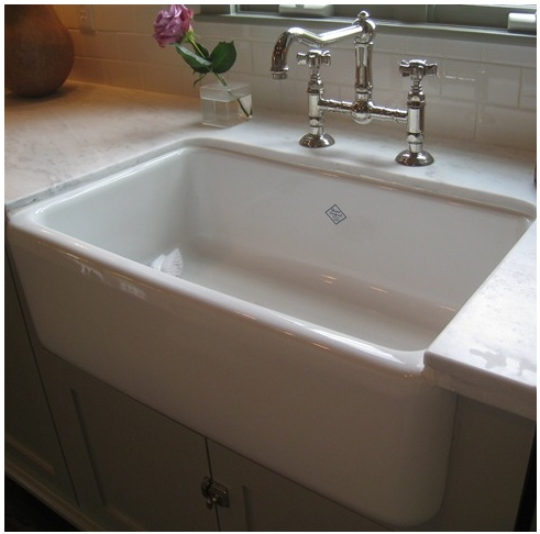 Over Counter Farmhouse Sink : Farms