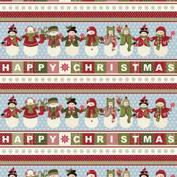 CCS - Fun with Frosty Quilt Kit at the Christmas Cloth Store