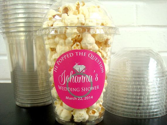 Clear Popcorn Boxes with Dome lids