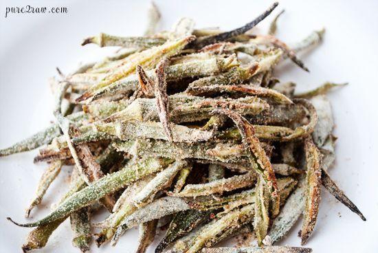 okra fries | YUM! | Pinterest