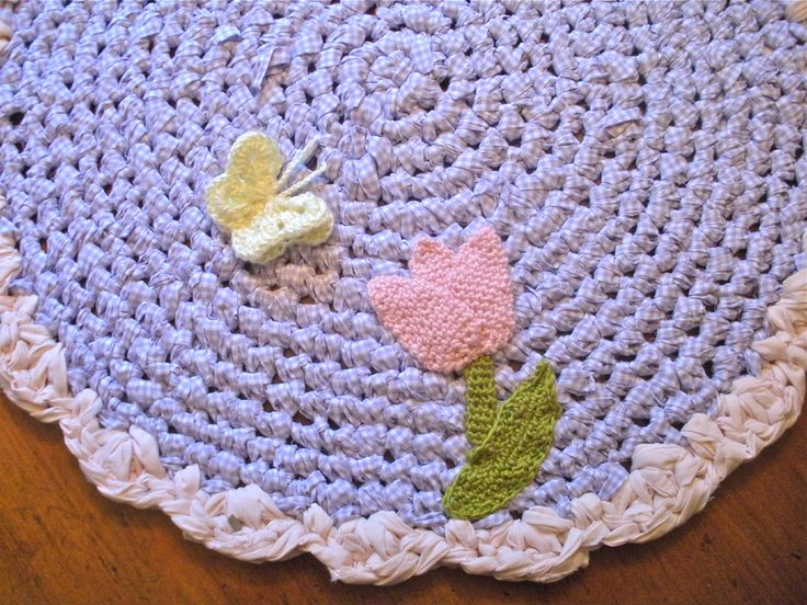 Free Crochet Pattern For Rug : Free Pattern: Crochet Rugs Trapillo Pinterest
