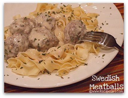 Swedish Meatballs.. oy vey!
