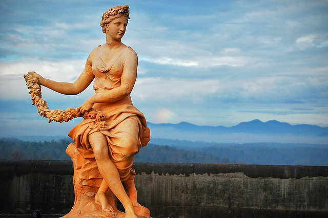 Statue at biltmore estates biltmore pinterest