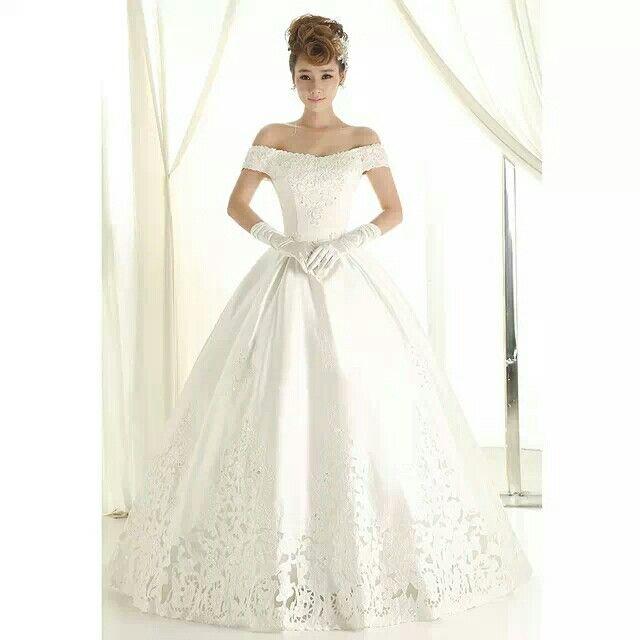 explore korean wedding dresses