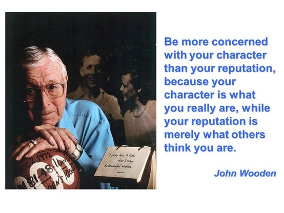wooden on leadership Ucla head basketball coach john wooden sits down to talk about leadership powerful talk (part 1.