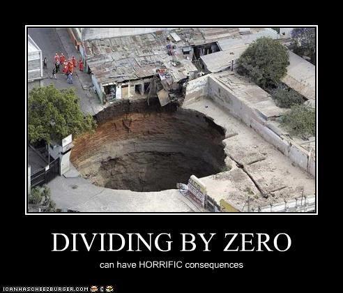 DIVIDING BY ZERO | My Humor | Pinterest: http://pinterest.com/pin/271412315017645483/