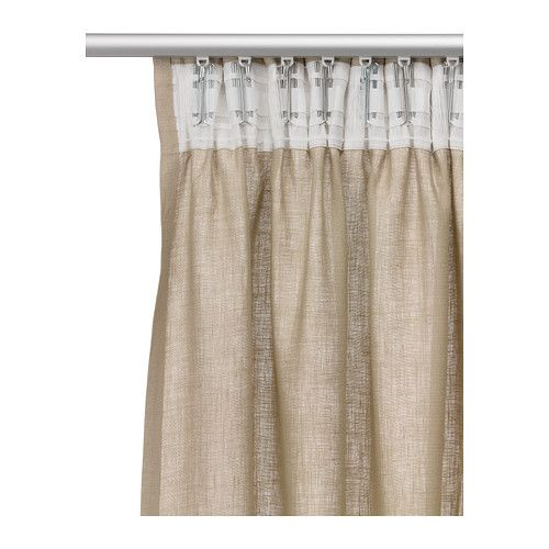 This is a another view of the back of the AINA Curtains, with curtain ...