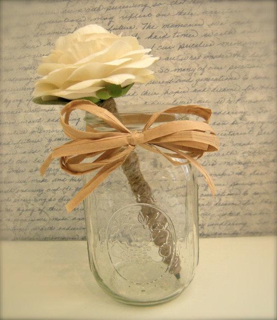 Flower pen crafts pinterest