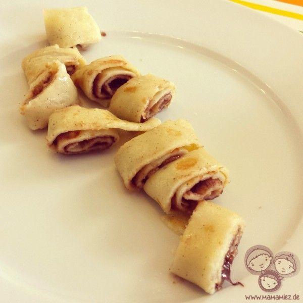 Palatschinken - Mama Miez | Rezepte: Sweet | Pinterest