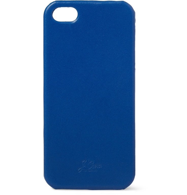 Leather-Covered iPhone 5 Case // J.Crew