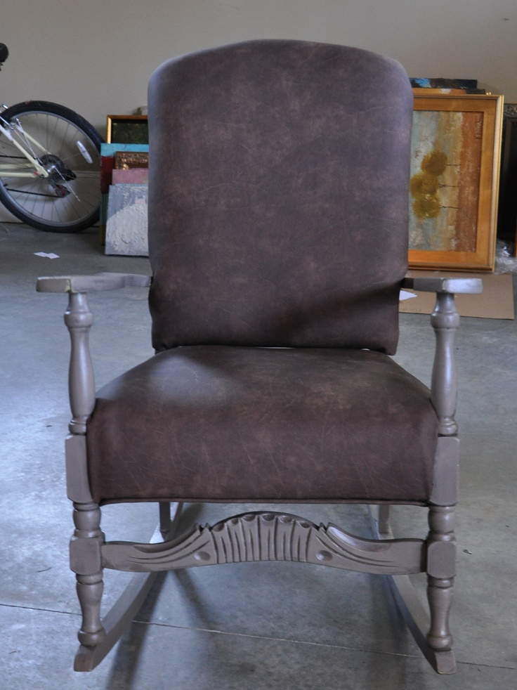 How to reupholster a rocking chair diy pinterest for How to reupholster a chair