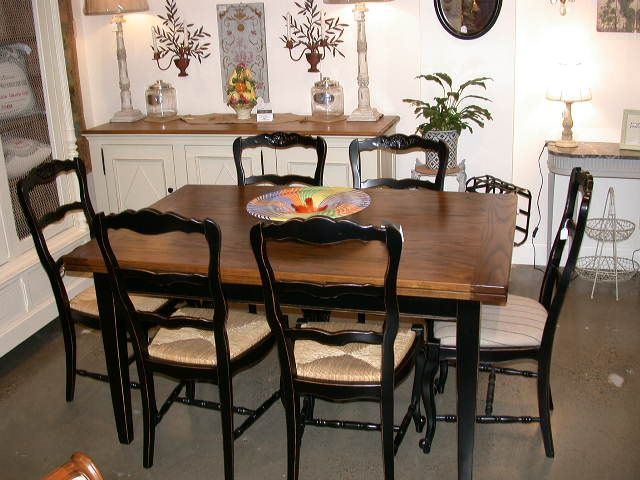 French provincial dining set painted dining sets pinterest
