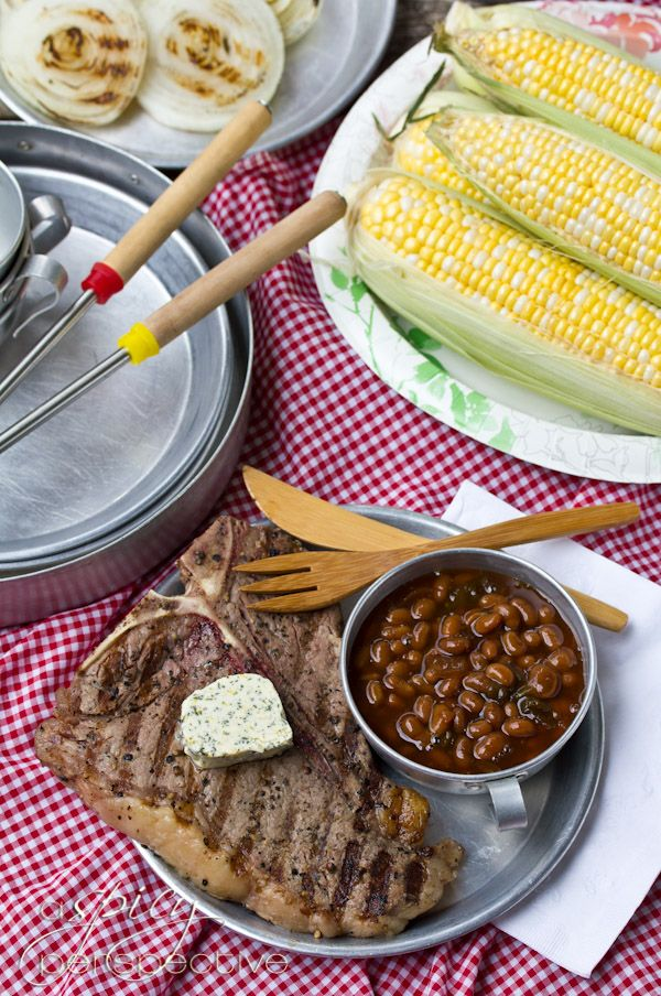 Porterhouse Steaks ~ Compound Butter | Recipe