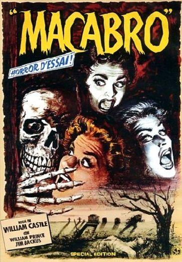 Cartel película Macabre (1958)