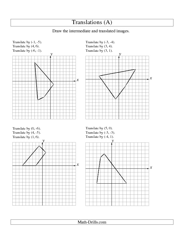 translation math worksheets – Math Translation Worksheet
