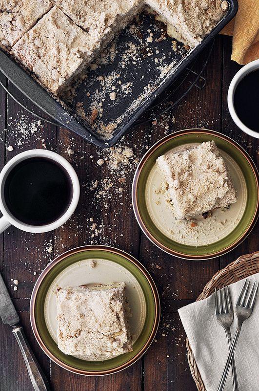 Cinnamon Sugar Coffee Cake   food   Pinterest