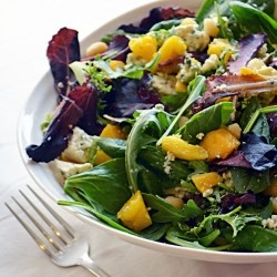 Mango and Blue Cheese Salad | salt | Pinterest