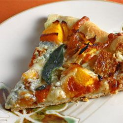 Roasted Butternut Squash and Caramelized Onion Pizza with Gorgonzola ...