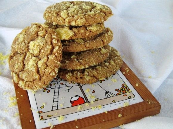 Ginger Orange Molasses Cookies   Recipes to Try   Pinterest