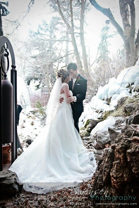 Outdoor Photo For Winter Weddings