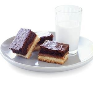 Shortbread Caramel Brownie Bars - Recipes | American Family