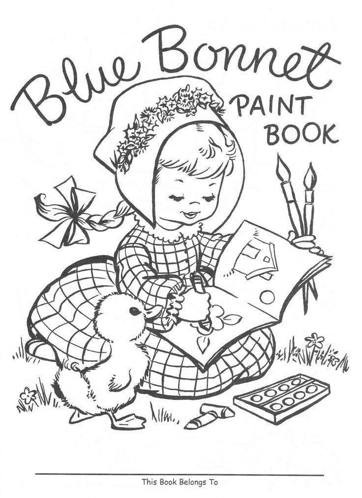 Bluebonnet Coloring Page Coloring Pages Bluebonnet Coloring Page