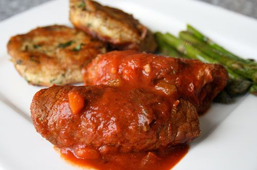 Another Beef Braciole to try (stuffed rolls of beef) posted on ...