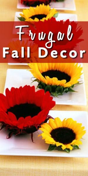 simple and frugal fall decorating ideas home decor