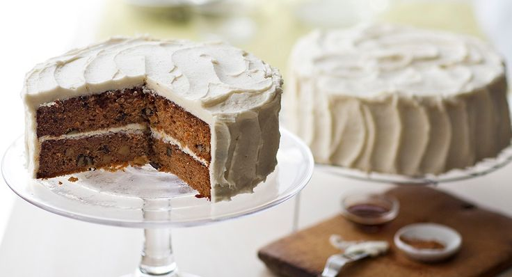 Carrot Cake with Mascarpone Cream Cheese Frosting | Recipe