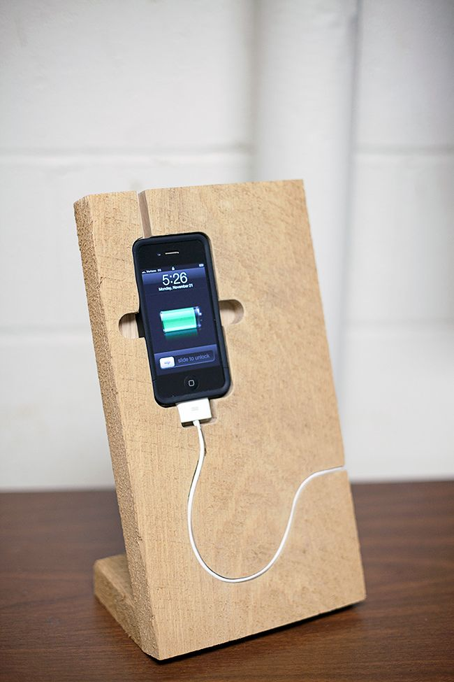 iPhone Stand | To Make | Pinterest