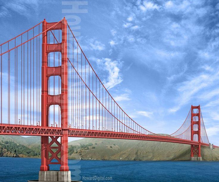 Golden Gate Bridge Design It Is Pinterest