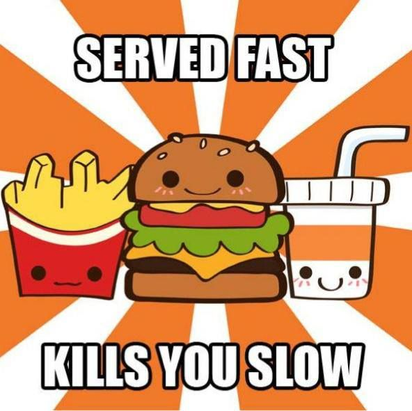 avoiding fast food Debate about for and against about eating fast food: it saves your time or destroys your health.