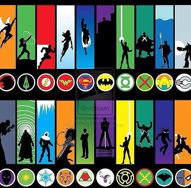 Similiar Dc Superhero Logos List Keywords