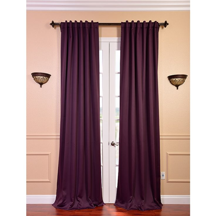 These stylish blackout thermal curtains make for a tasteful addition ...