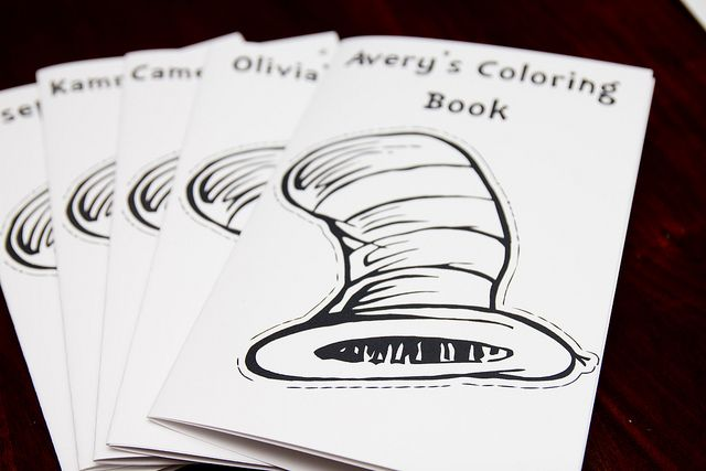 cat in the hat coloring book pages - Cat Hat Coloring Pages