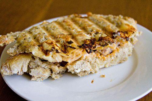 Reuben Panini with Homemade Rye Bread | sandwiches, wraps, paninis, m ...