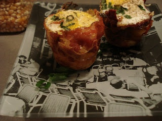 Bacon-Wrapped Eggs with Polenta « We are not Martha