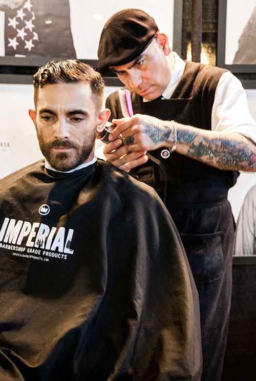 Barber Shop In Long Beach : ... guy! Works at Razorbacks barber shop in Long Beach. Great haircuts