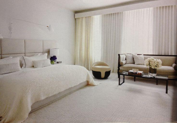 All White And Cream Bedroom Sleepy Head Pinterest