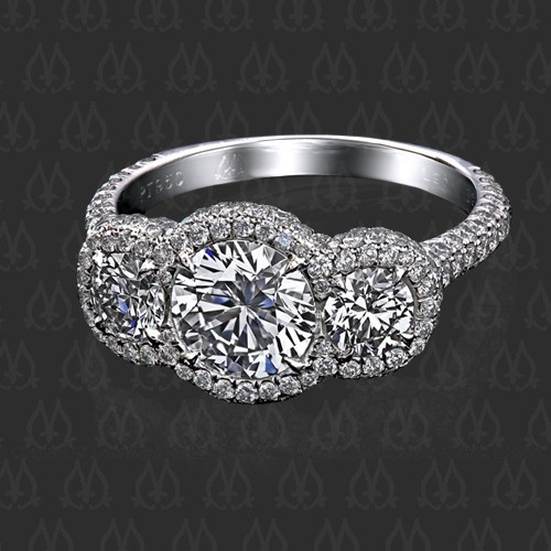 """Montpassier™"" diamond ring by Leon Mege"