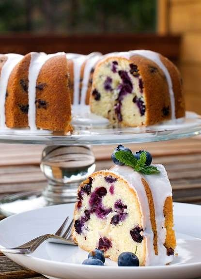 Blueberry Lime Pound Cake | Cakes | Pinterest
