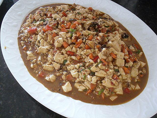 Vegetarian Mapo Tofu | food | Pinterest