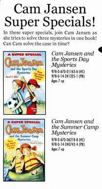 Cam Jansen: First Day of school mystery. I used this as a read aloud ...