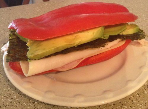 bell pepper sandwich   ThePrimalParent