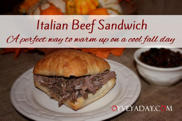 Slow Cooker Italian Beef Sandwiches | Recipes | Pinterest