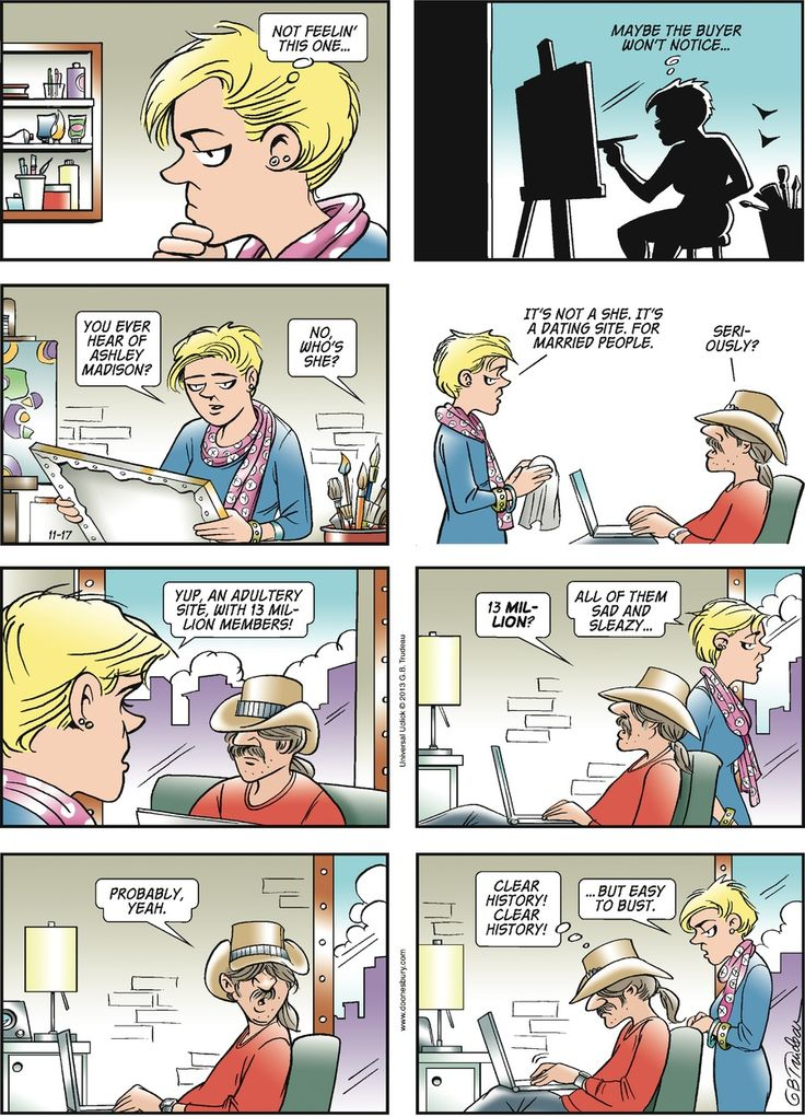 comic strip by garry trudeau Infirmity