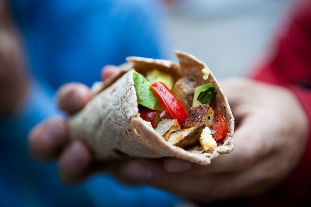 Breakfast Burrito by continentaldrift: Here is the recipe
